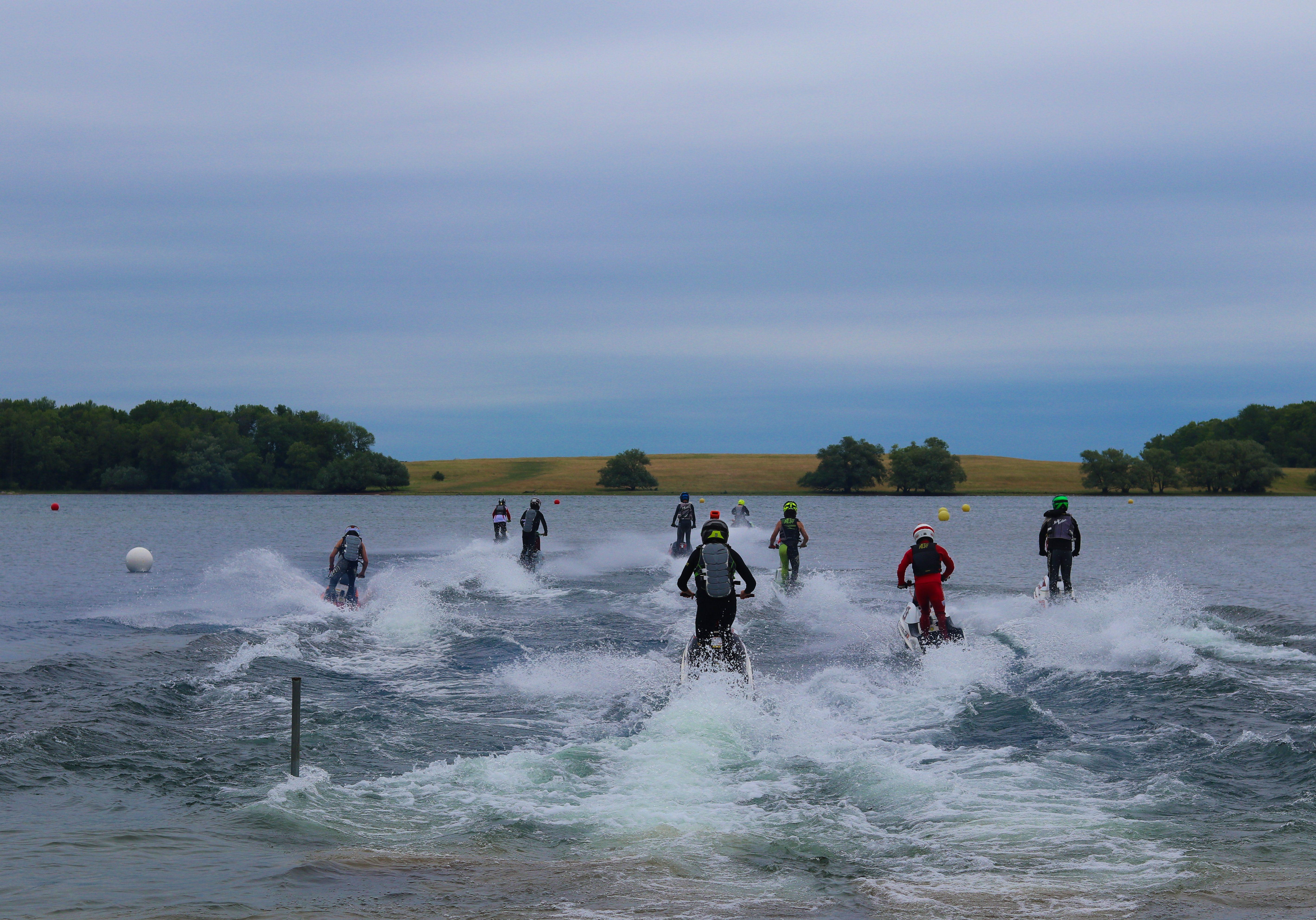 2021 watercross jet ski racers waddinton beach ny